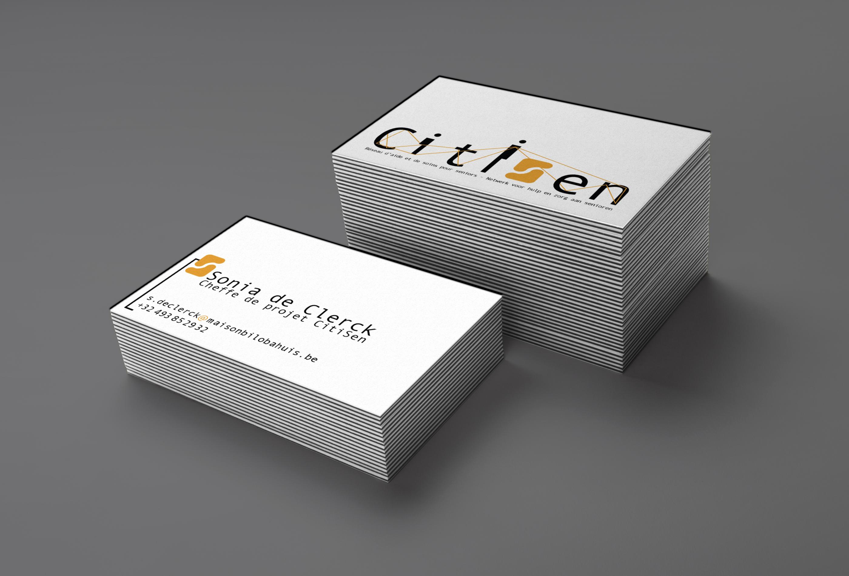 Carte de visite - CitiSen (réseau senior)