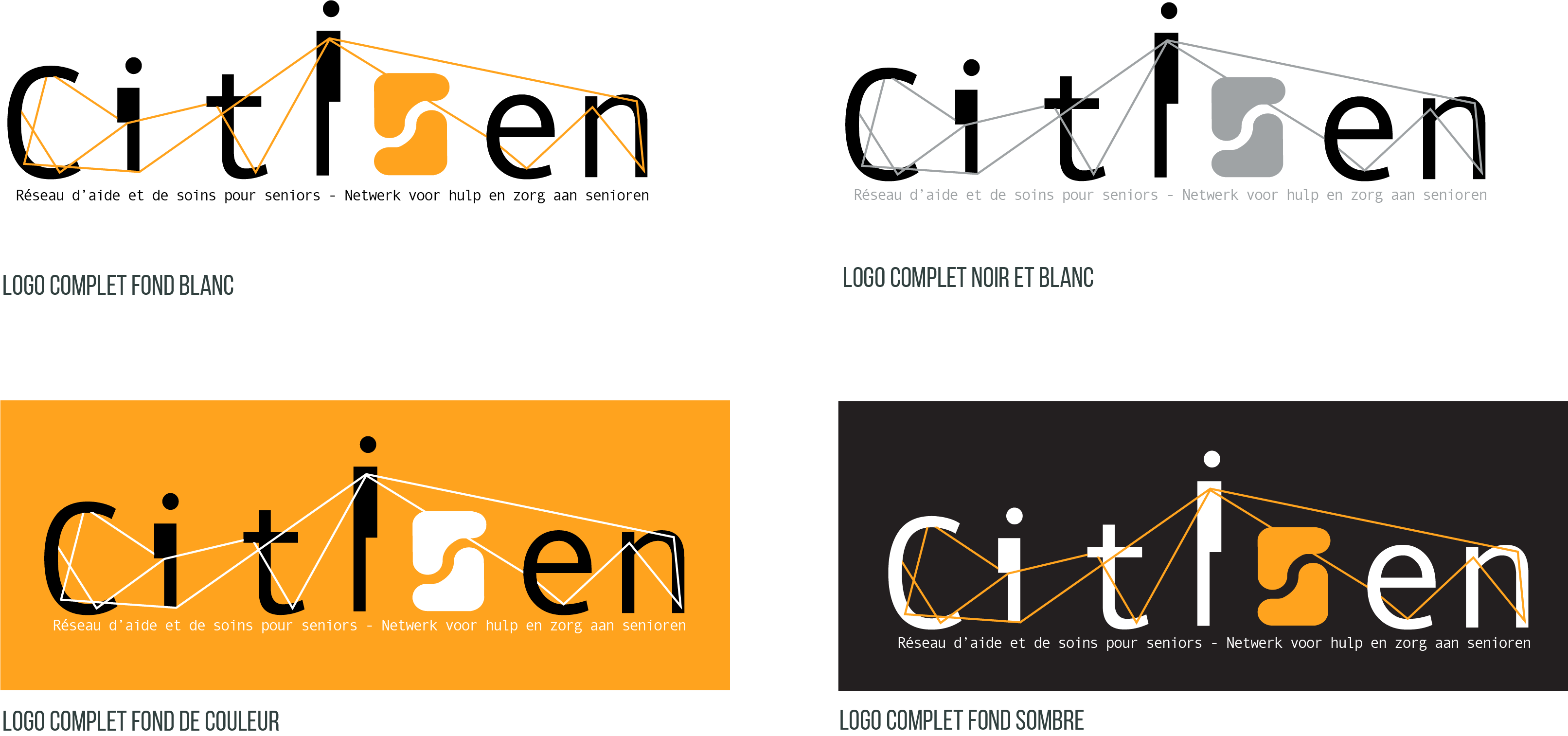 Logo - Citisen déclinaisons