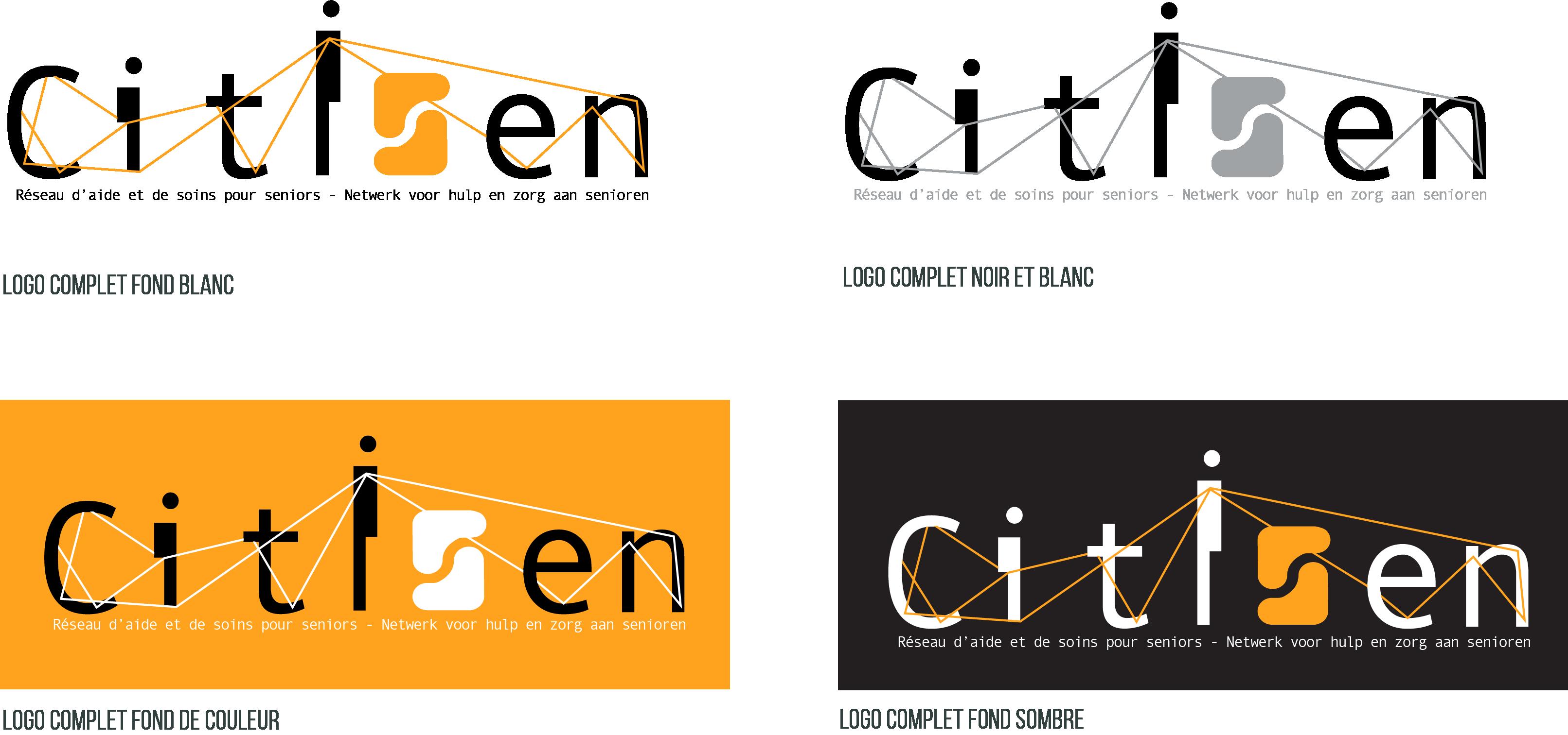 Logo - Citisen déclinaisons