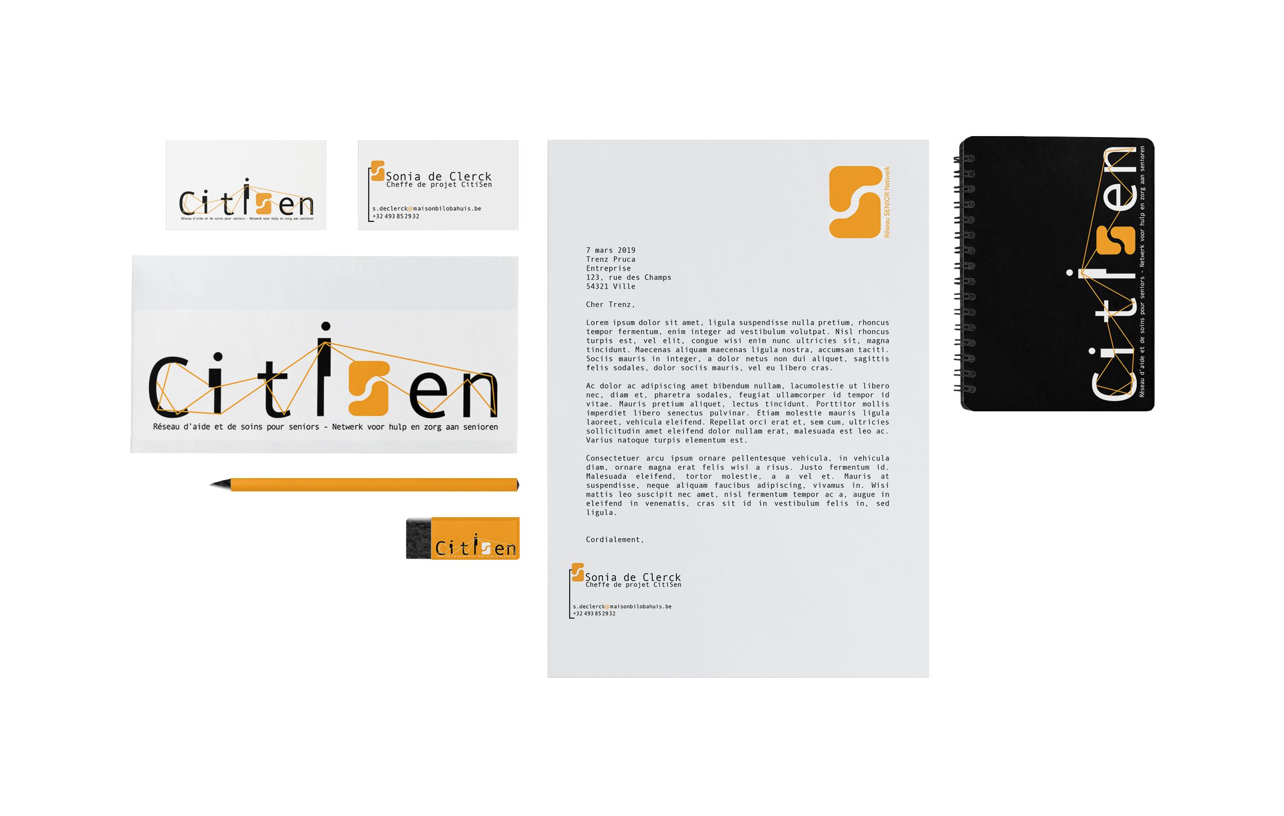 Stationnery - CitiSen (réseau senior)