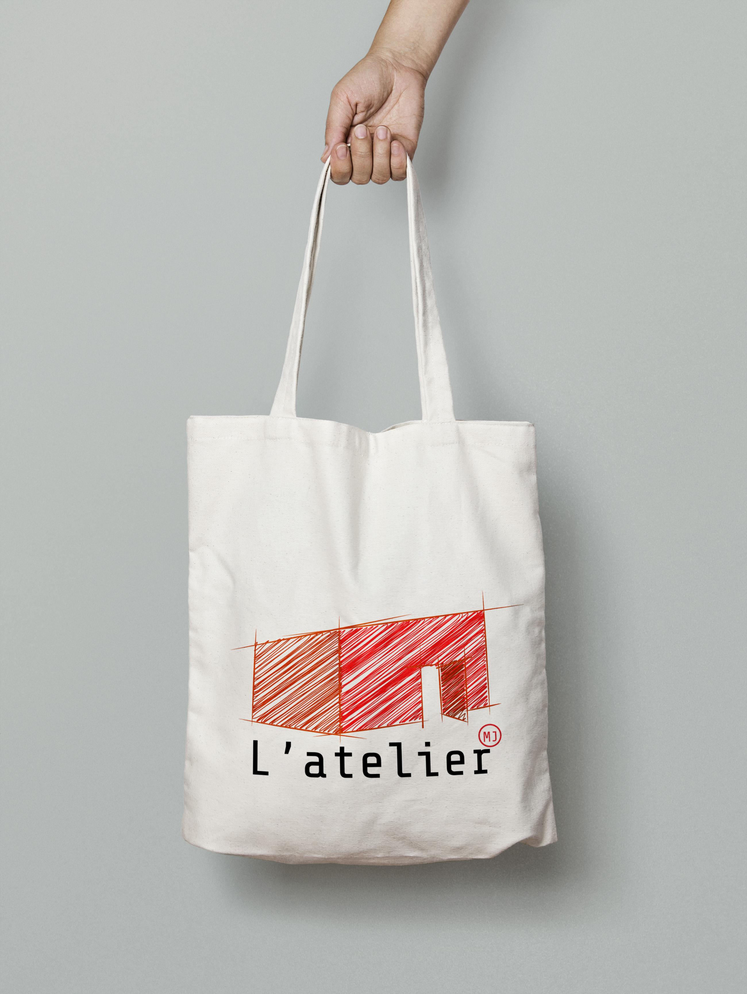 Tote bag - Maison de jeunes L'atelier