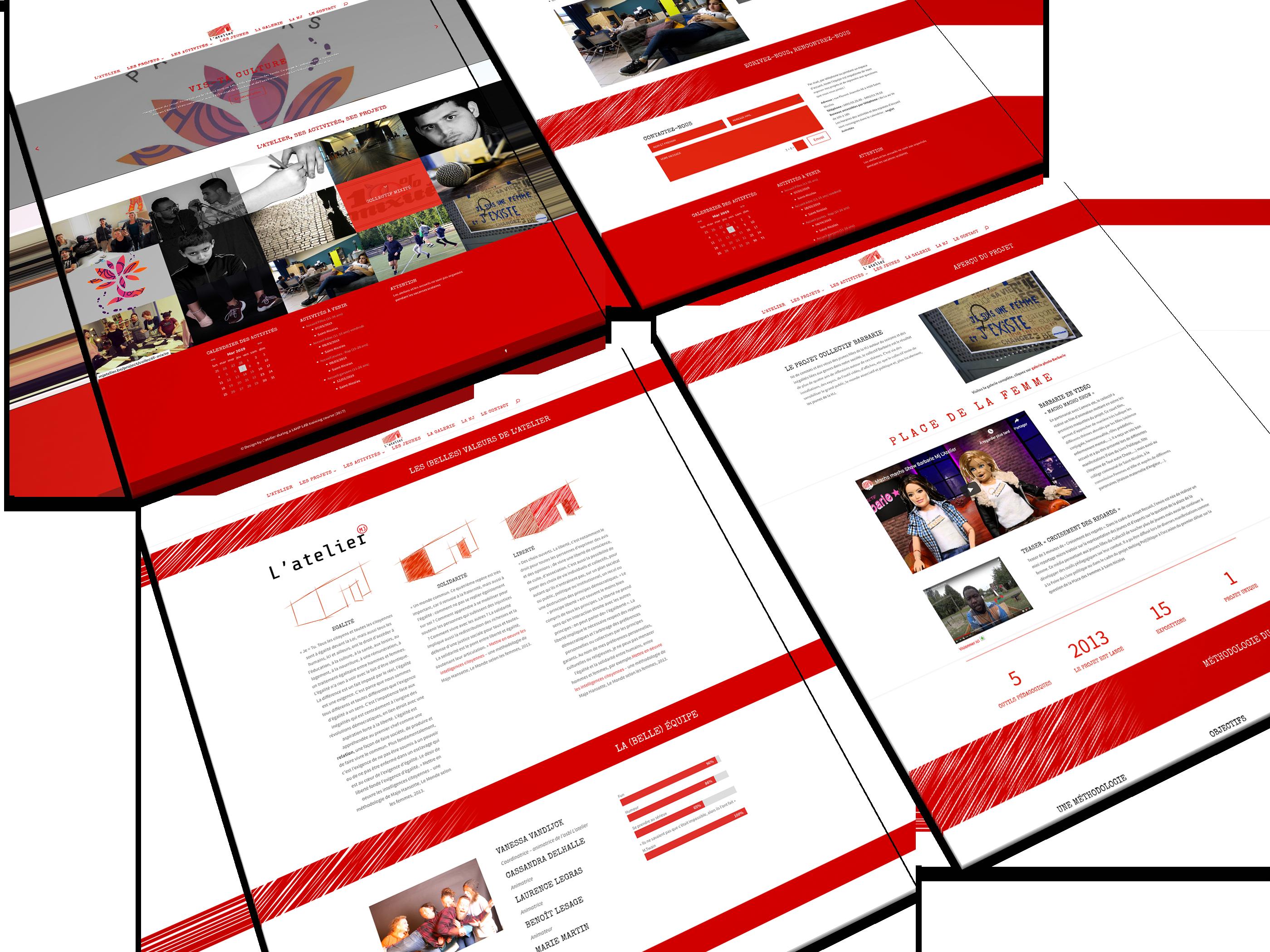 Site internet - MJ L'atelier