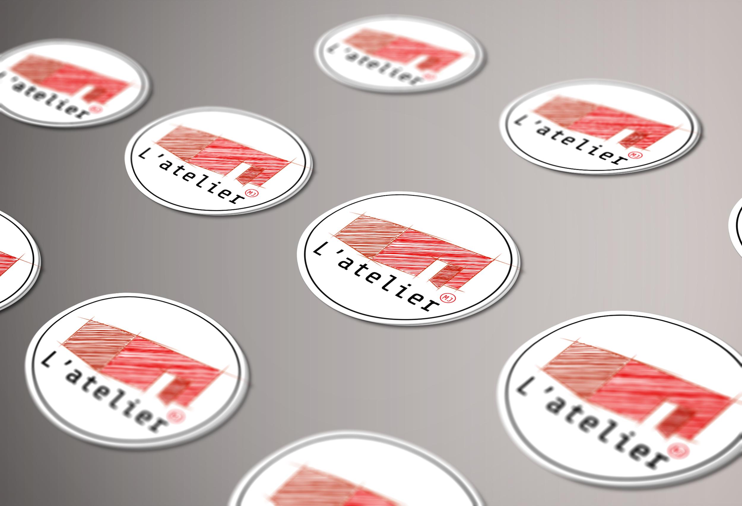 Stickers - Maison de jeunes L'atelier